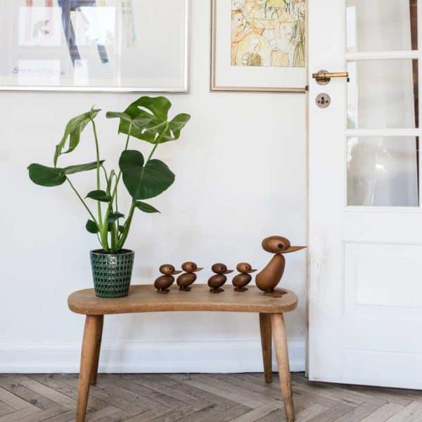 Architectmade-Duck-and-Duckling-Teak-Wood-Denmark-Hans-Bølling