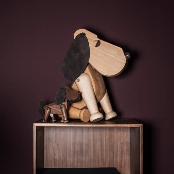 Architectmade-Bobby-Rufus-Walnut-Beech-Wood-Dog-Denmark-Hans-Bolling