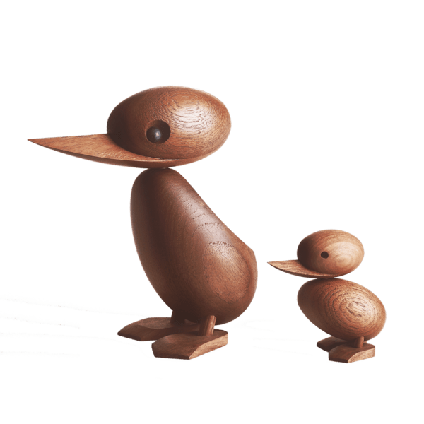 Architectmade-Duck-and-Duckling-Teak-Hans-Bølling