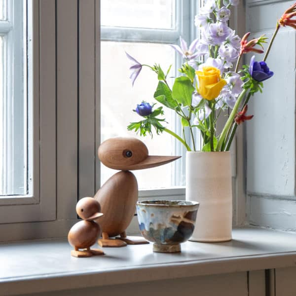 Architectmade-Duck-and-Duckling-Teak-Wood-Denmark-Hans-Bølling
