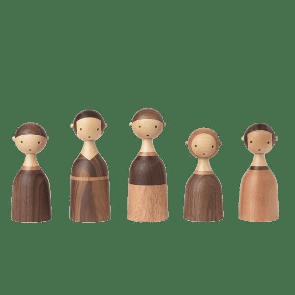 Architectmade-Kin-Family-Walnut-Mahogany-Maple-Lars-Beller-Fjetland