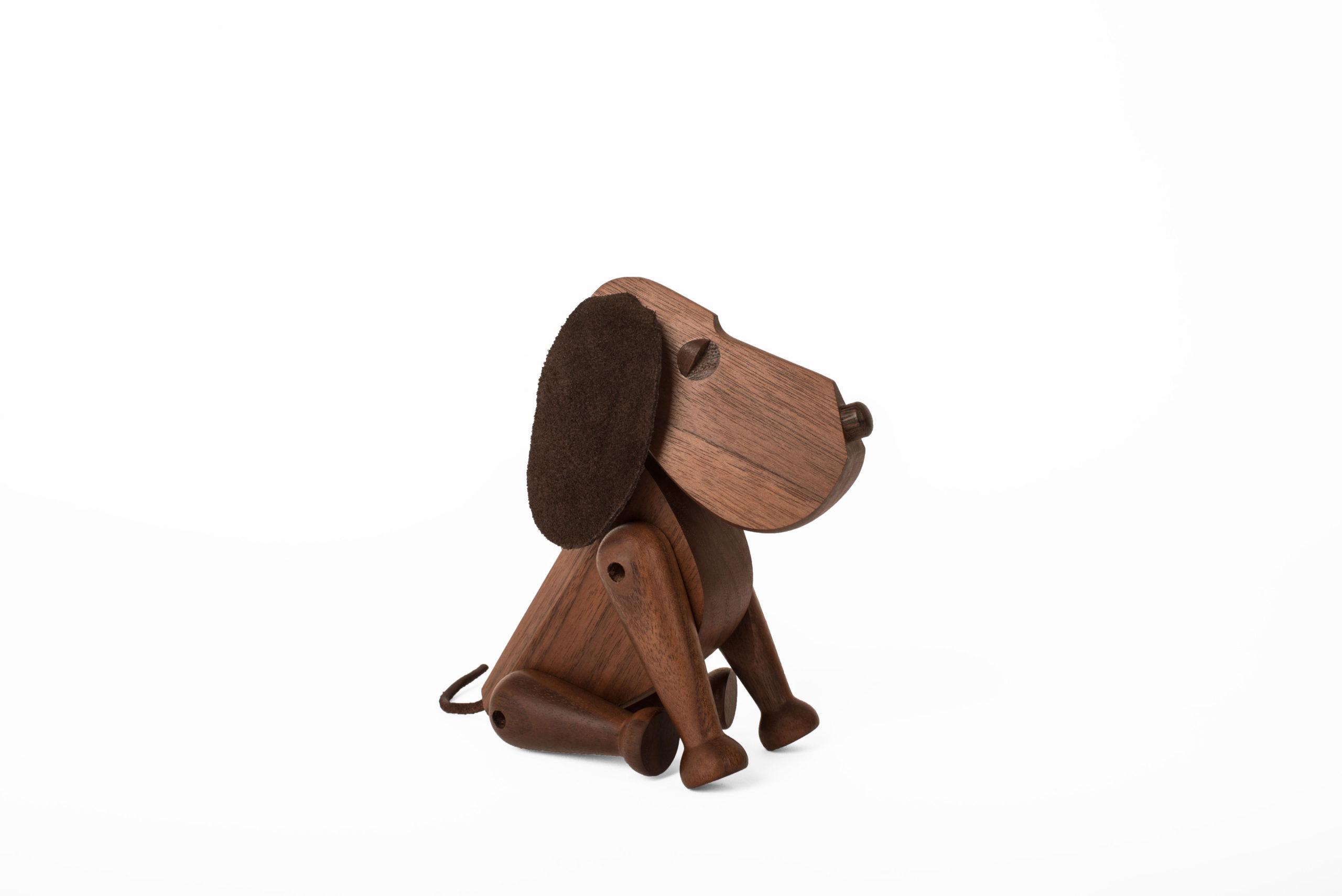 ARCHITECTMADE Bobby Dog Walnut Wood Hans Bølling