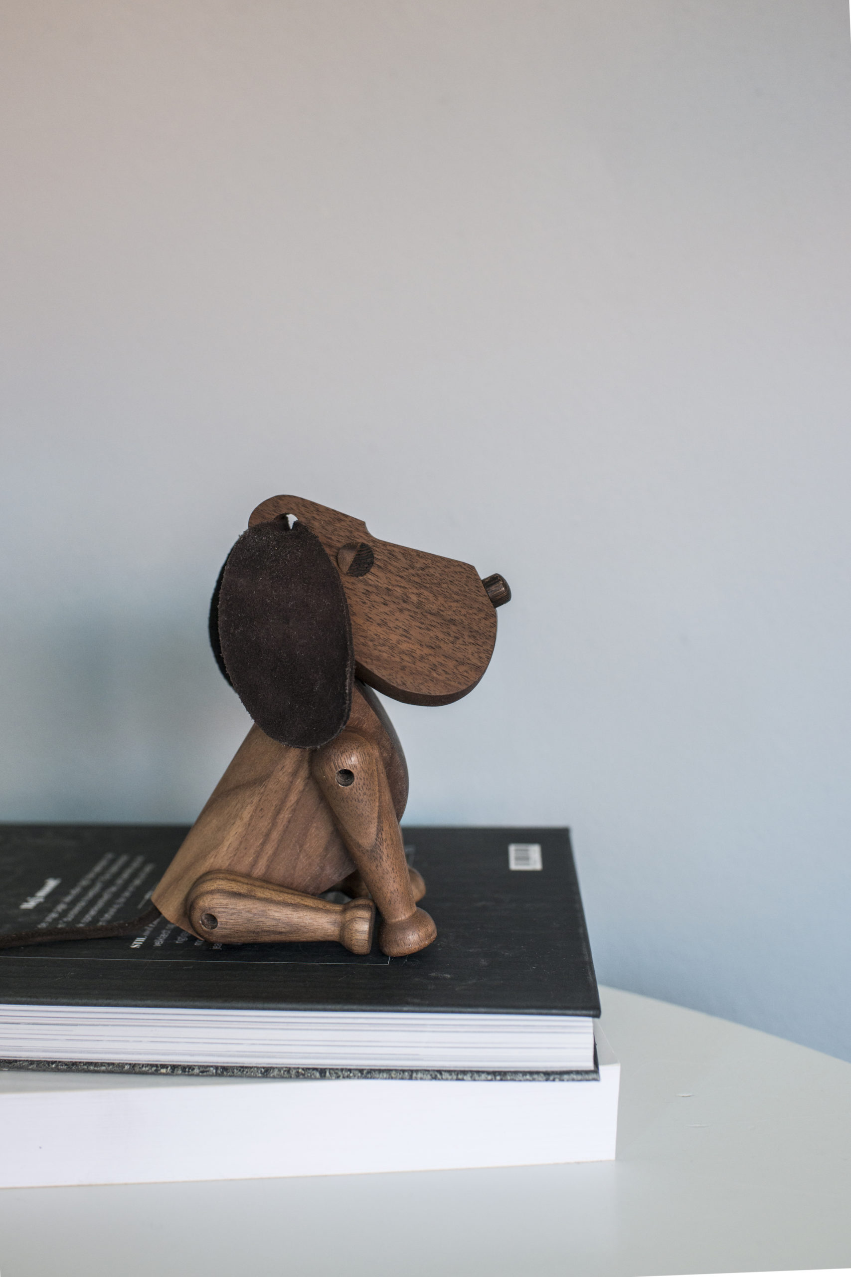ARCHITECTMADE Bobby Walnut Wood Dog Denmark Hans Bølling