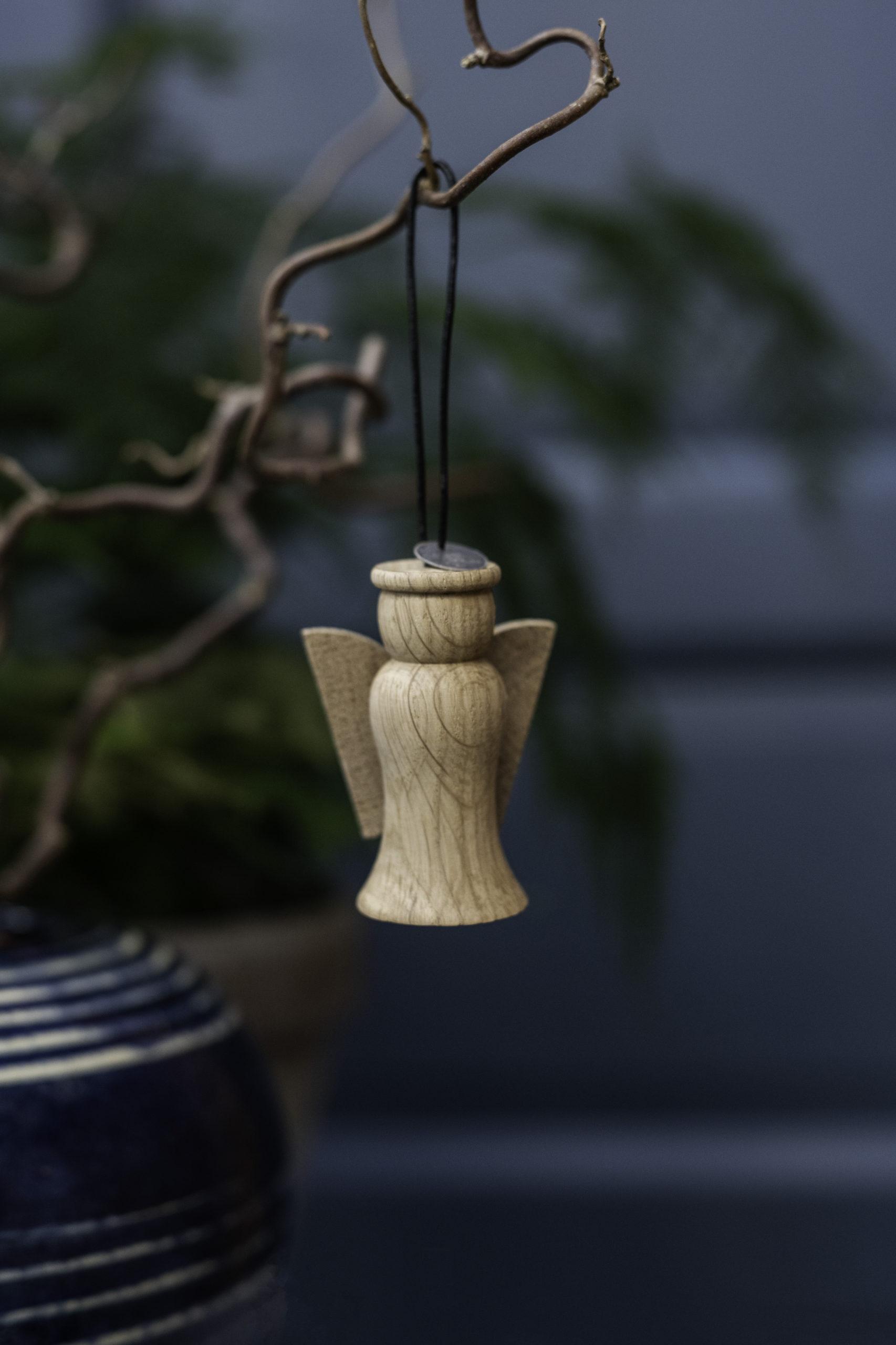 ARCHITECTMADE Jul Christmas Ornament Oak Wood Denmark Nikolaj Klitgaard