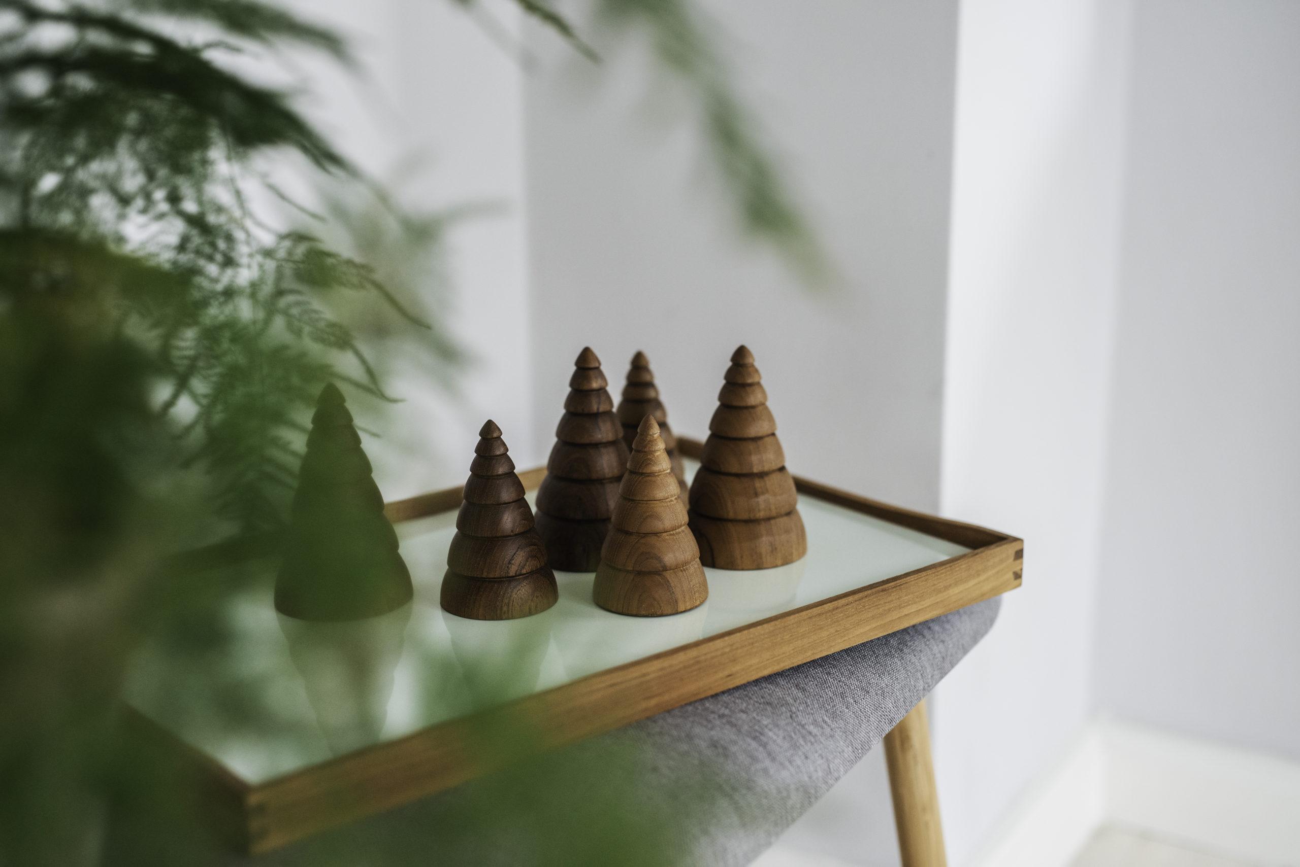 ARCHITECTMADE Jul Christmas Ornament Teak Wood Denmark Nikolaj Klitgaard
