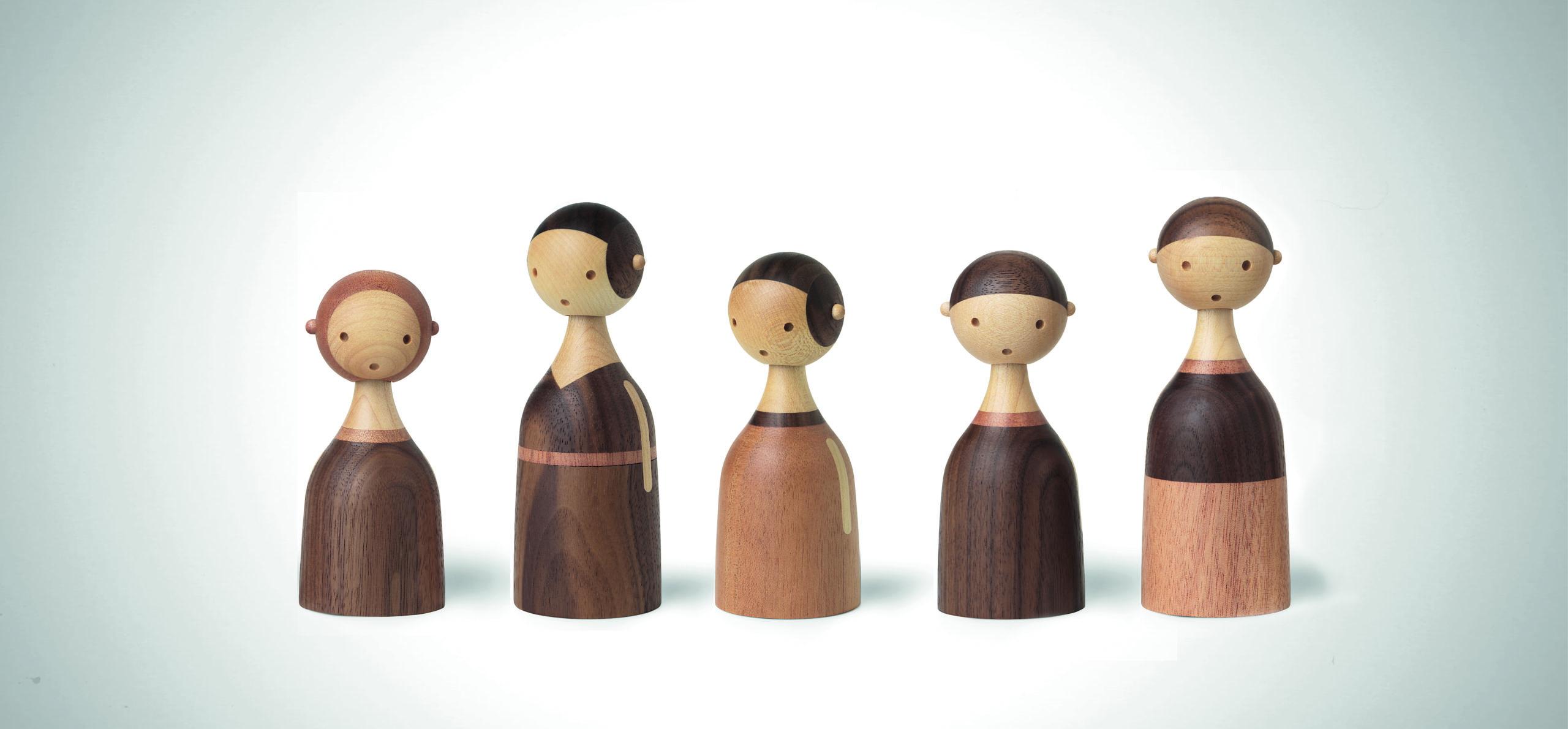 ARCHITECTMADE Kin Family Walnut Mahogany Maple Lars Beller Fjetland