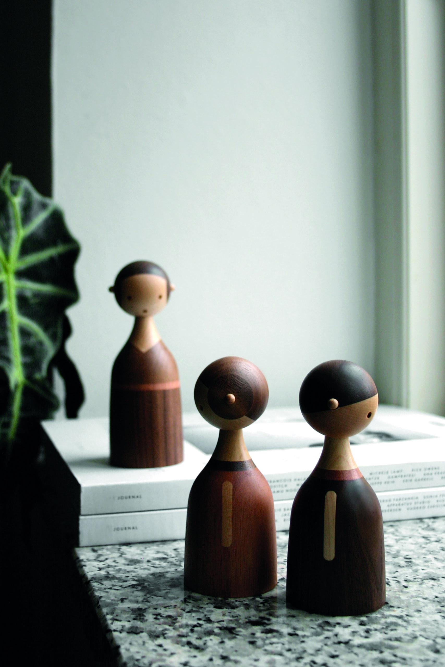 ARCHITECTMADE Kin Family Walnut Mahogany Maple Wood Denmark Lars Beller Fjetland