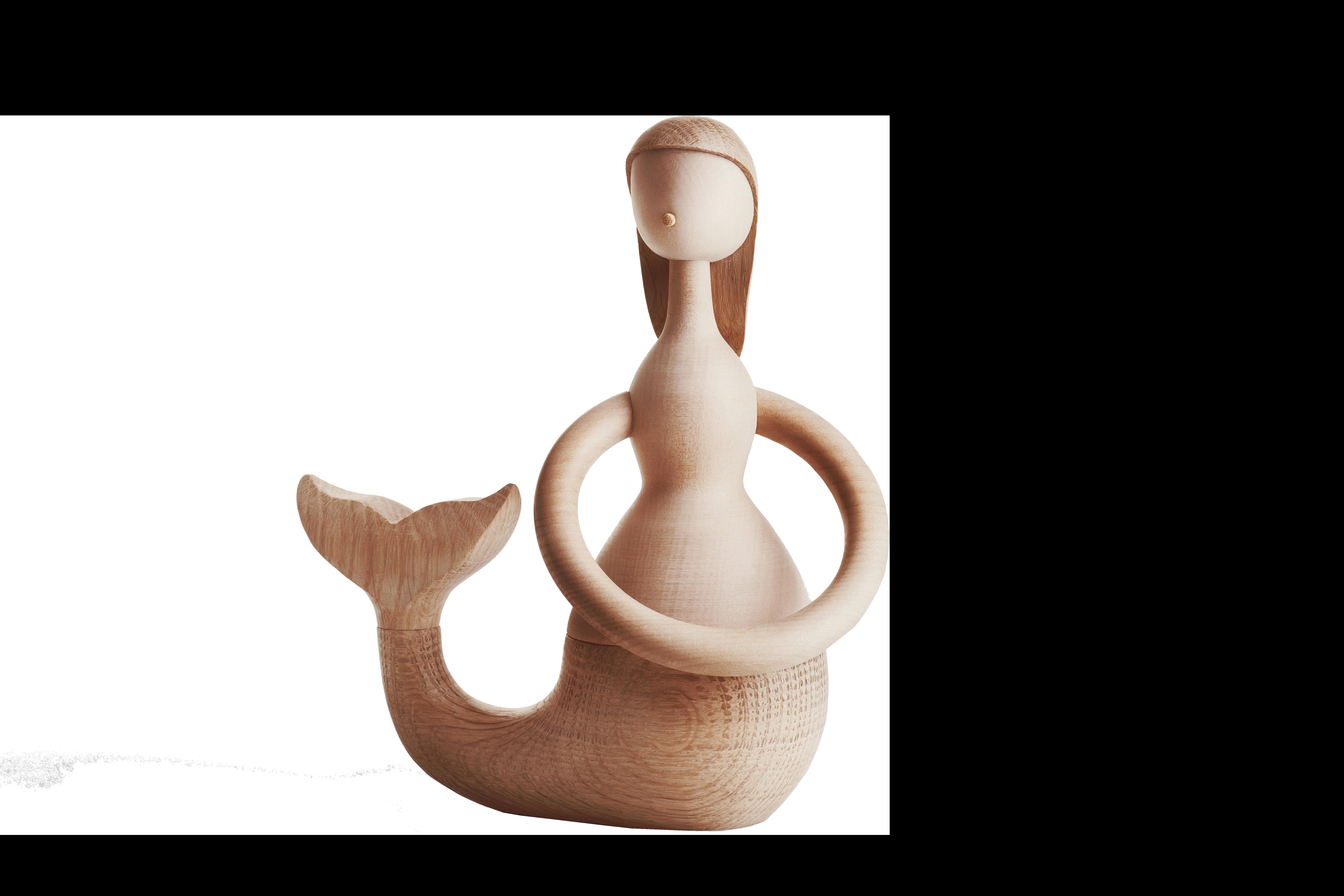 ARCHITECTMADE Mermaid Hans Christian Andersen Oak Maple Hans Bølling