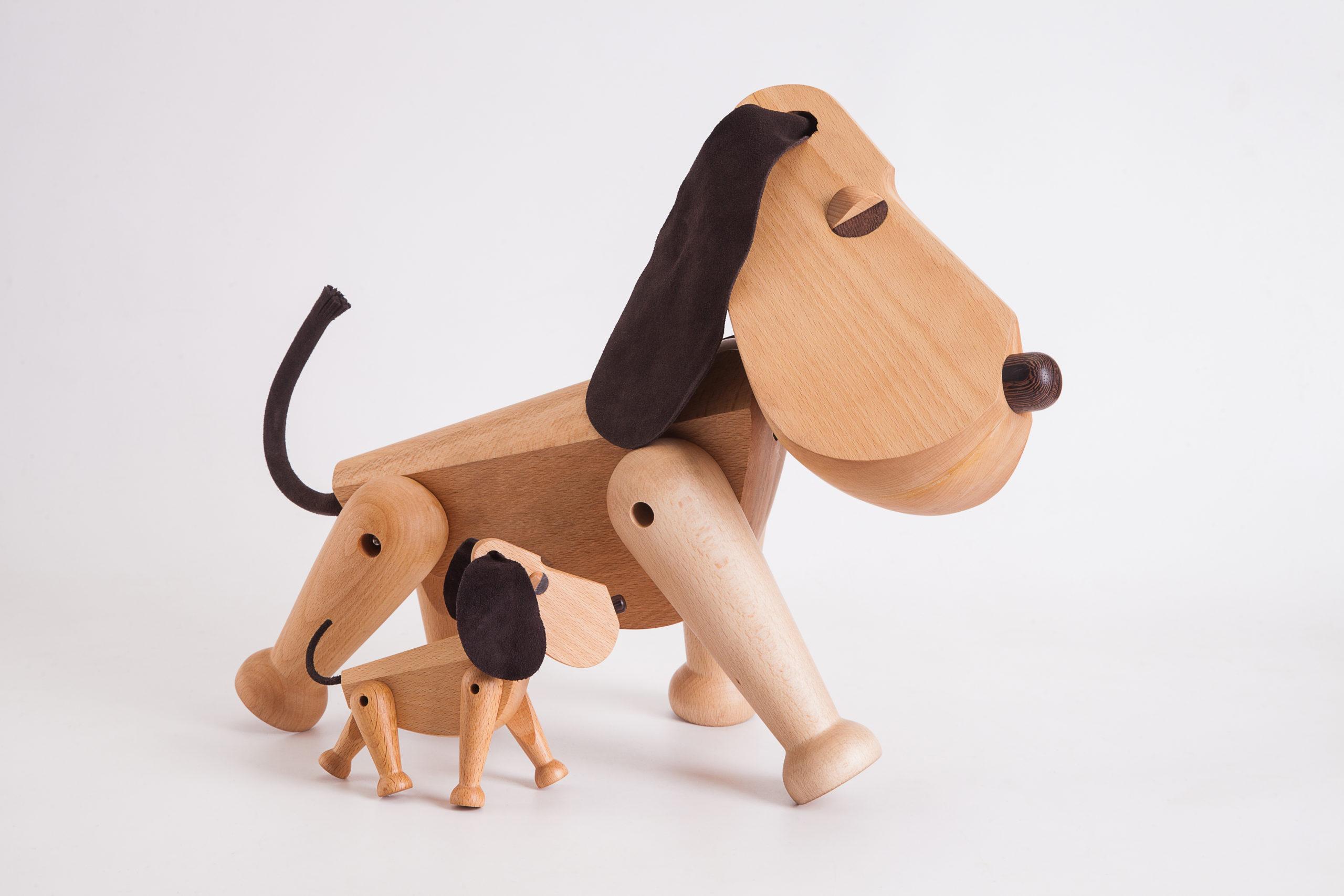 ARCHITECTMADE Oscar Rufus Dog Beech Wood Hans Bølling