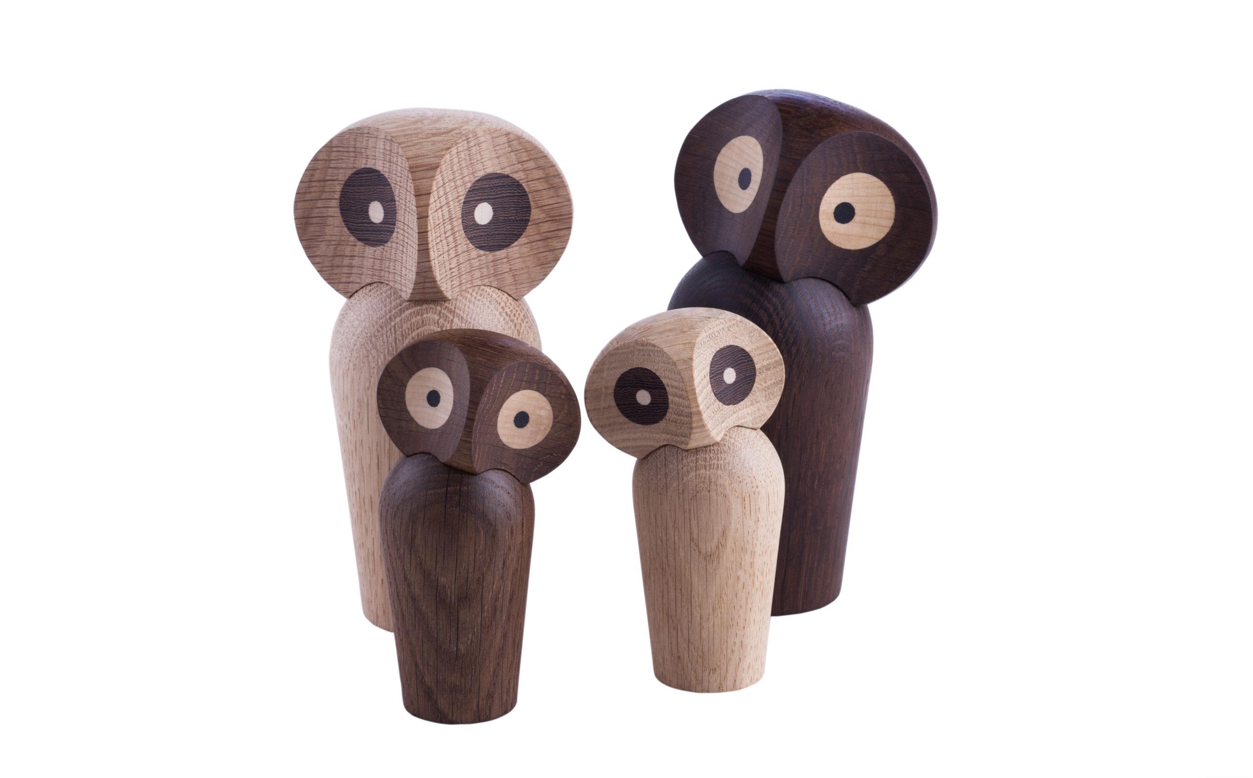 ARCHITECTMADE Owl Group Oak Wood Paul Anker Hansen