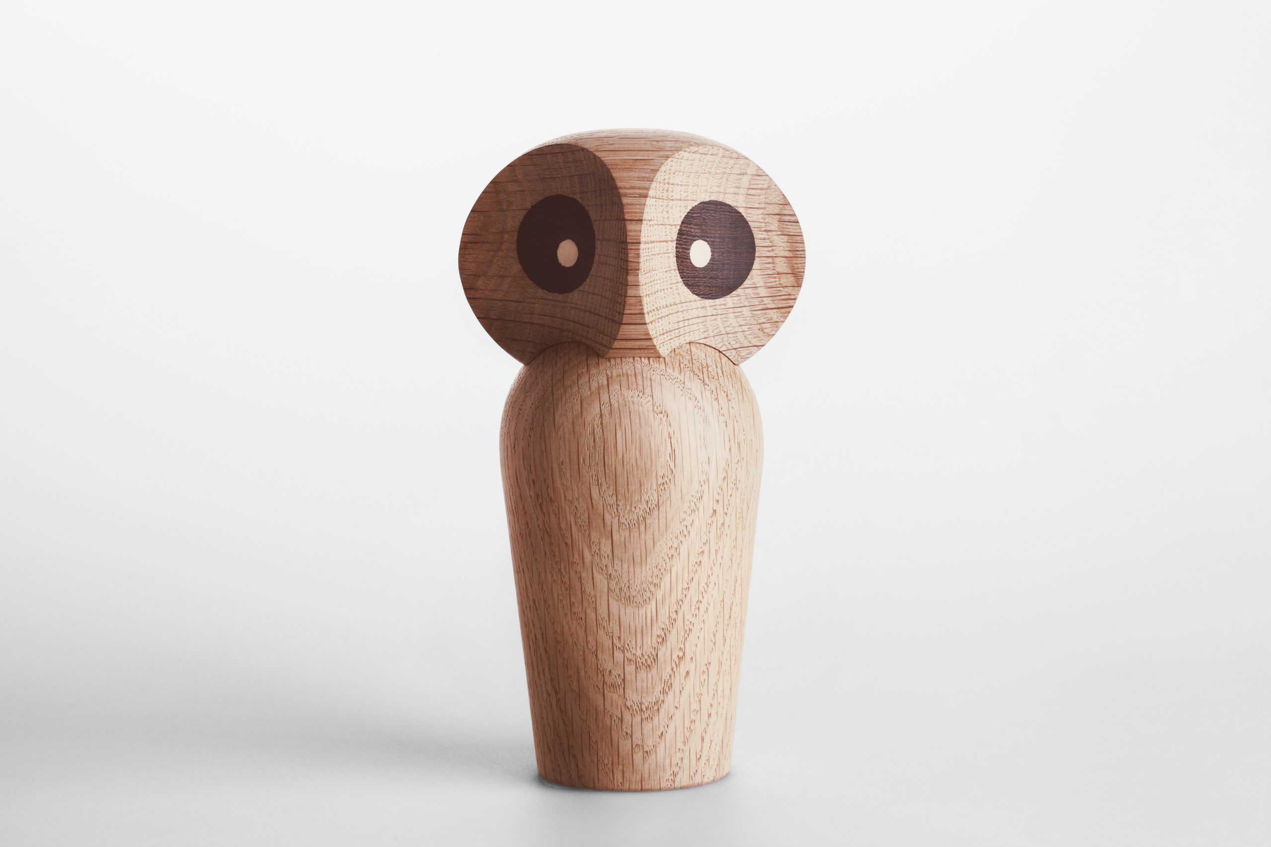 ARCHITECTMADE Owl Large Natural Oak Wood Paul Anker Hansen