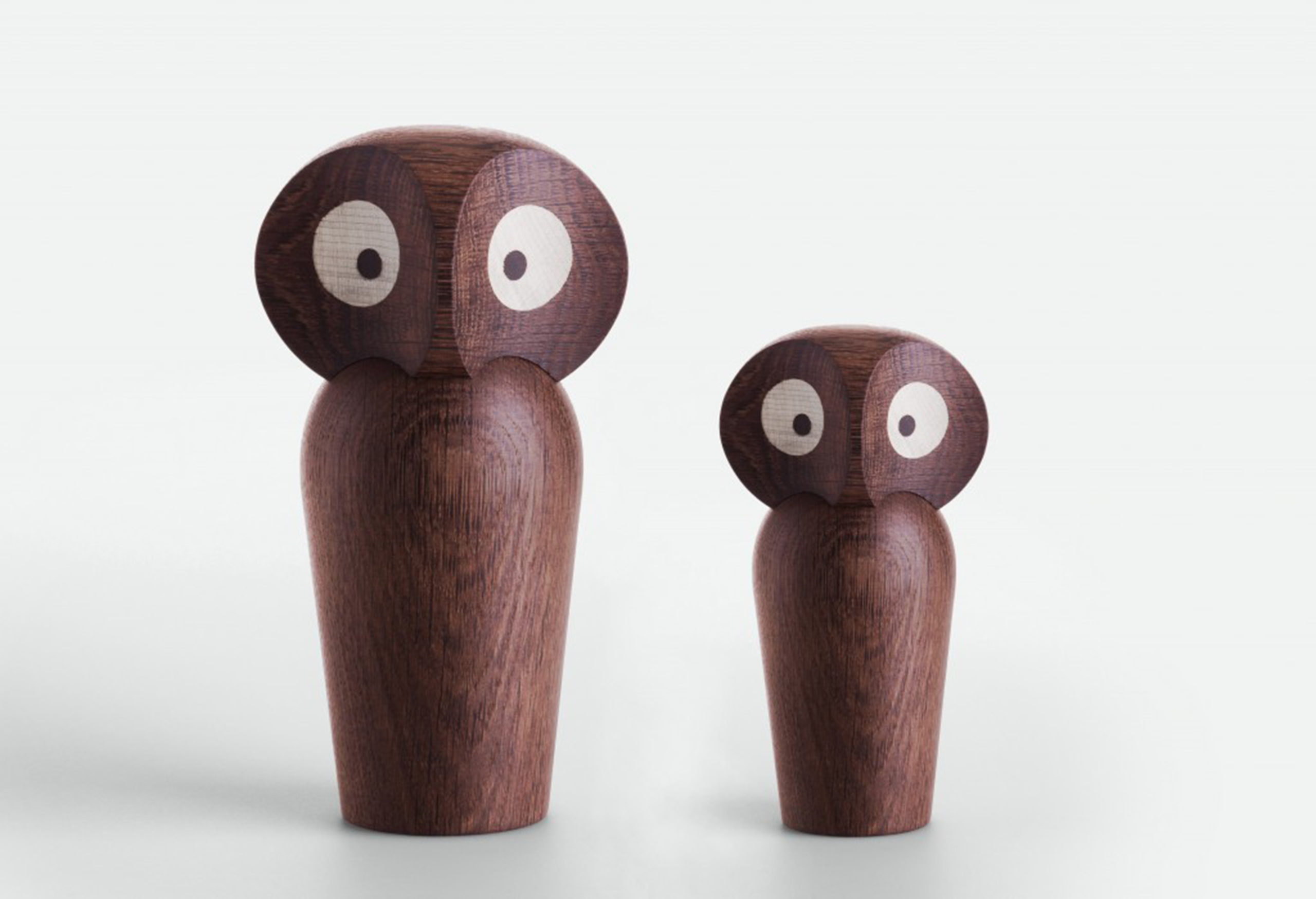 ARCHITECTMADE Owl Group Smoked Oak Wood Paul Anker Hansen