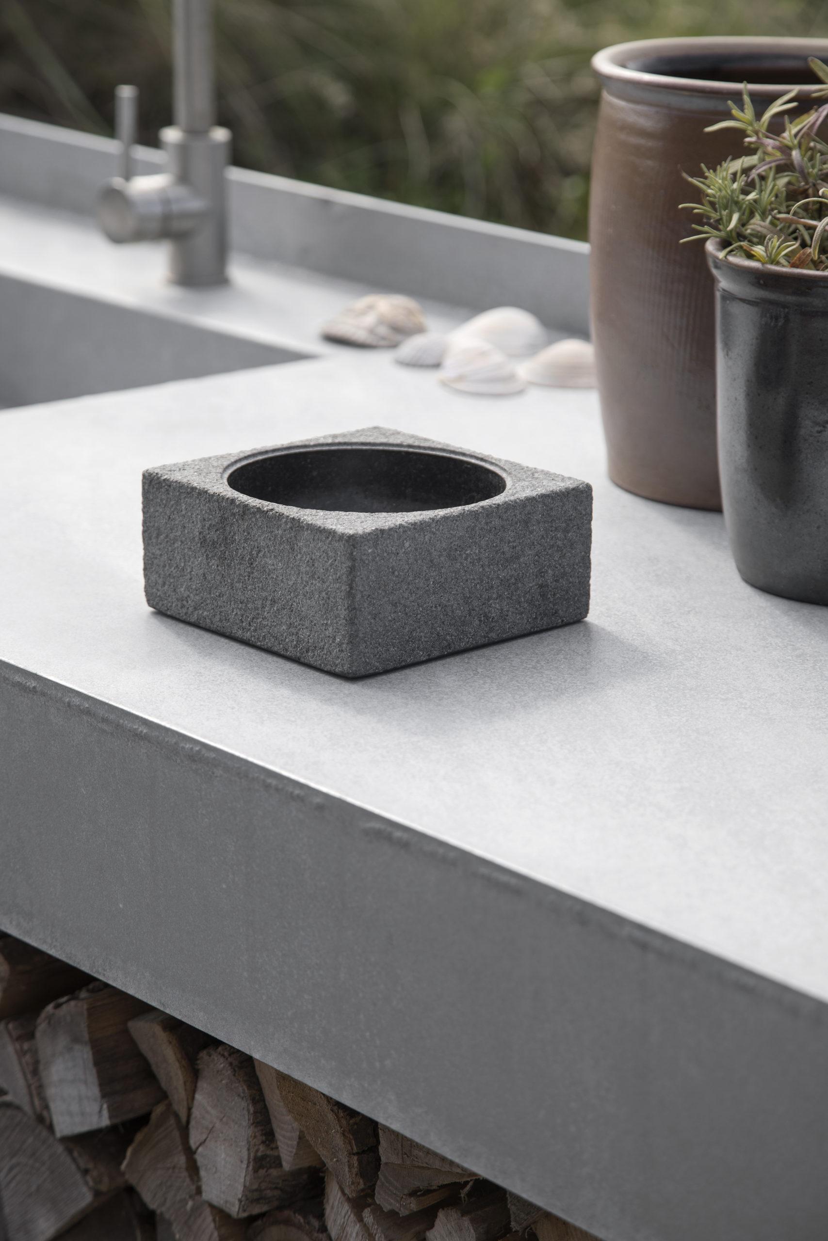 ARCHITECTMADE PK Bowl Granite Home Accessory Denmark Poul Kjærholm