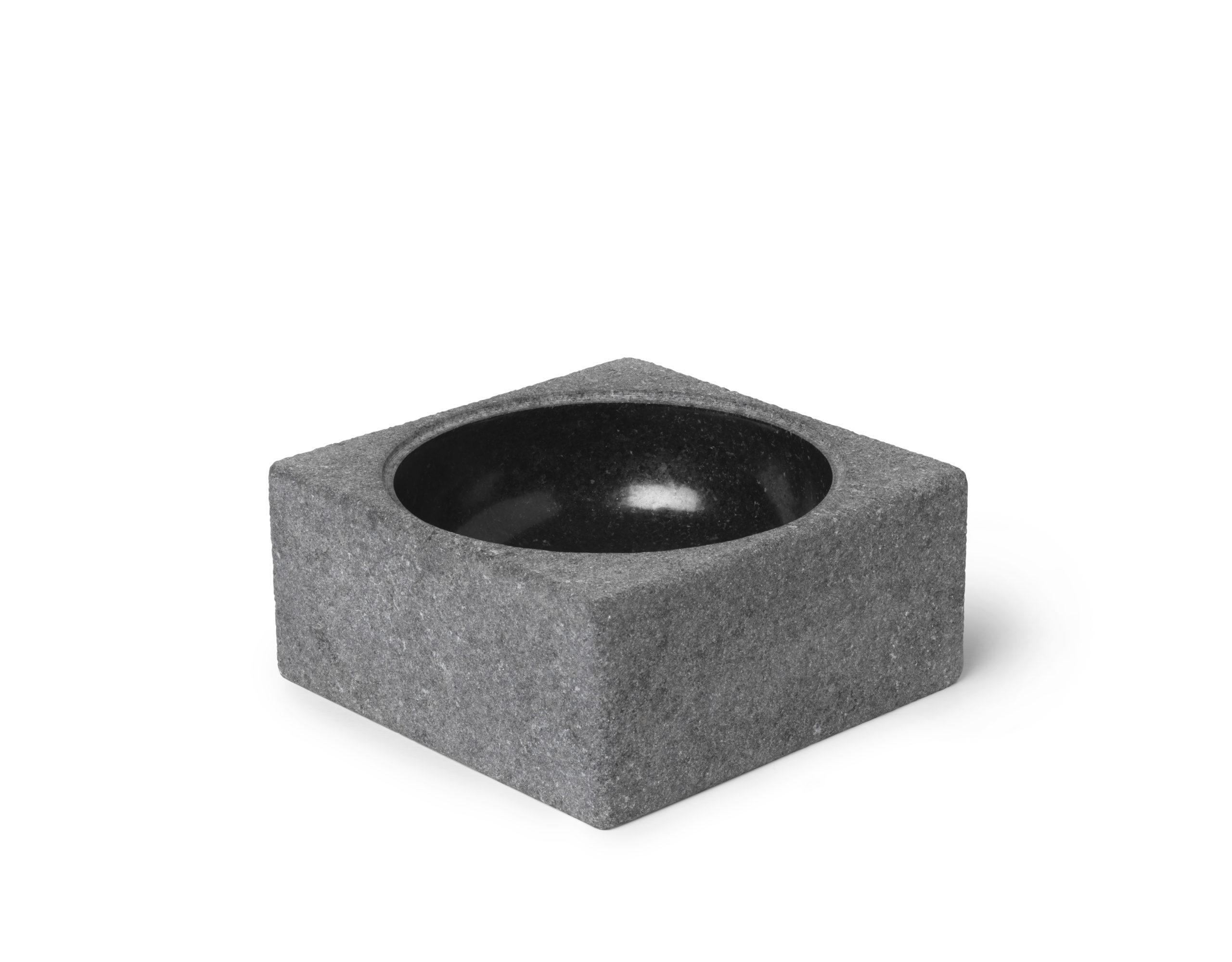 ARCHITECTMADE PK Bowl Granite Poul Kjærholm