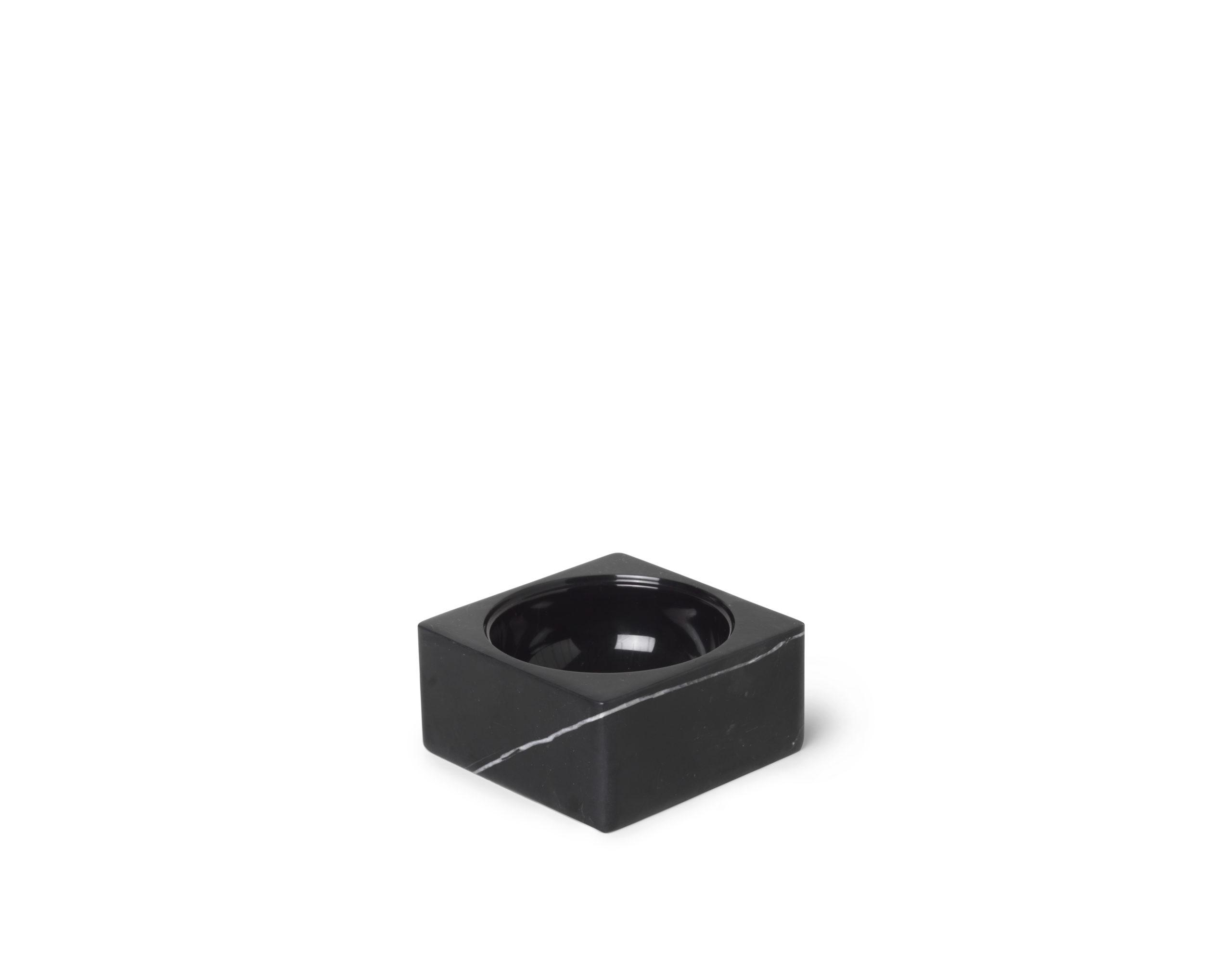ARCHITECTMADE PK Mini Black Marble Bowl Poul Kjærholm