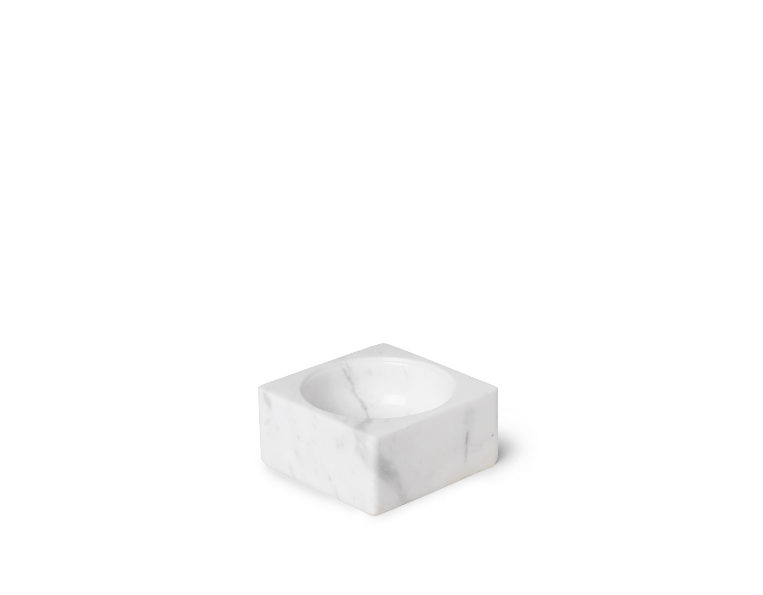 ARCHITECTMADE PK Mini White Marble Bowl Poul Kjærholm