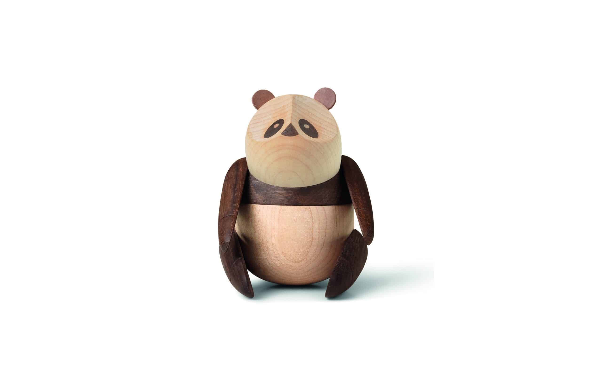 ARCHITECTMADE Panda Small Walnut Maple Bjarke Ingels