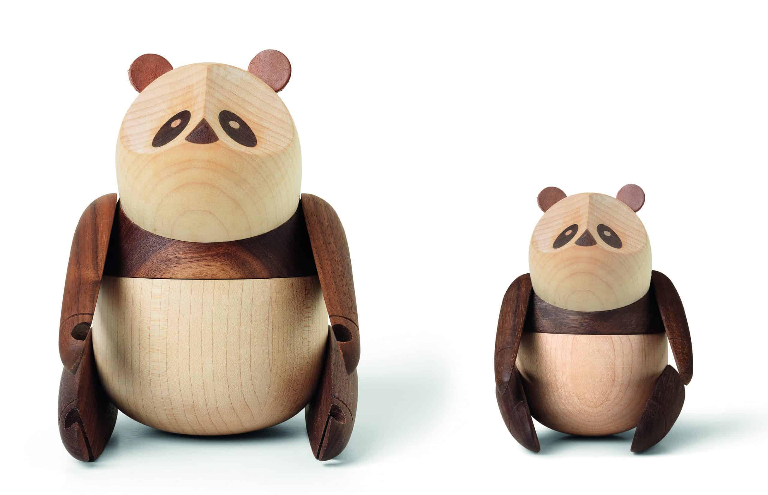 ARCHITECTMADE Panda Walnut Maple Bjarke Ingels
