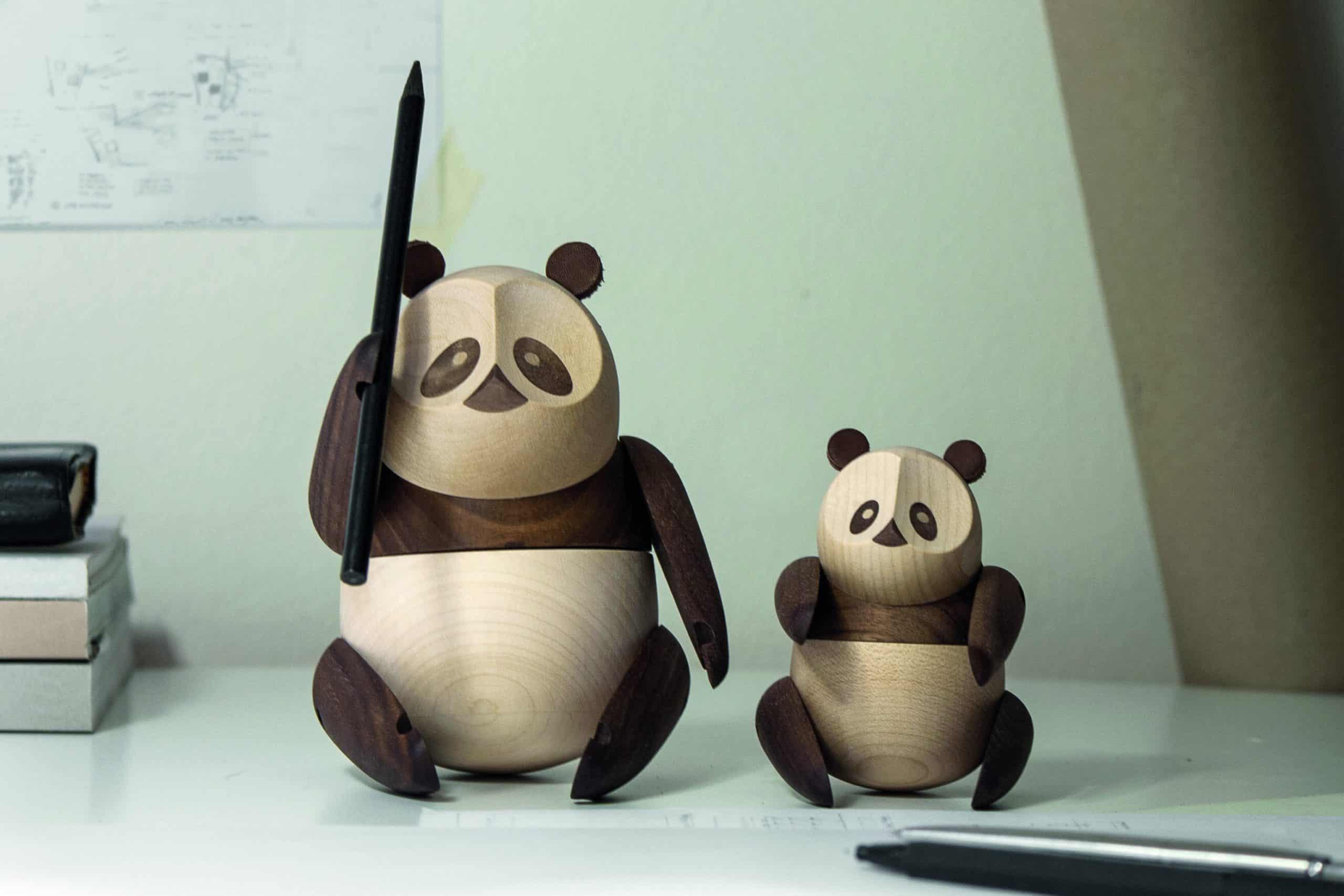 ARCHITECTMADE Panda Walnut Maple Wood Denmark Bjarke Ingels