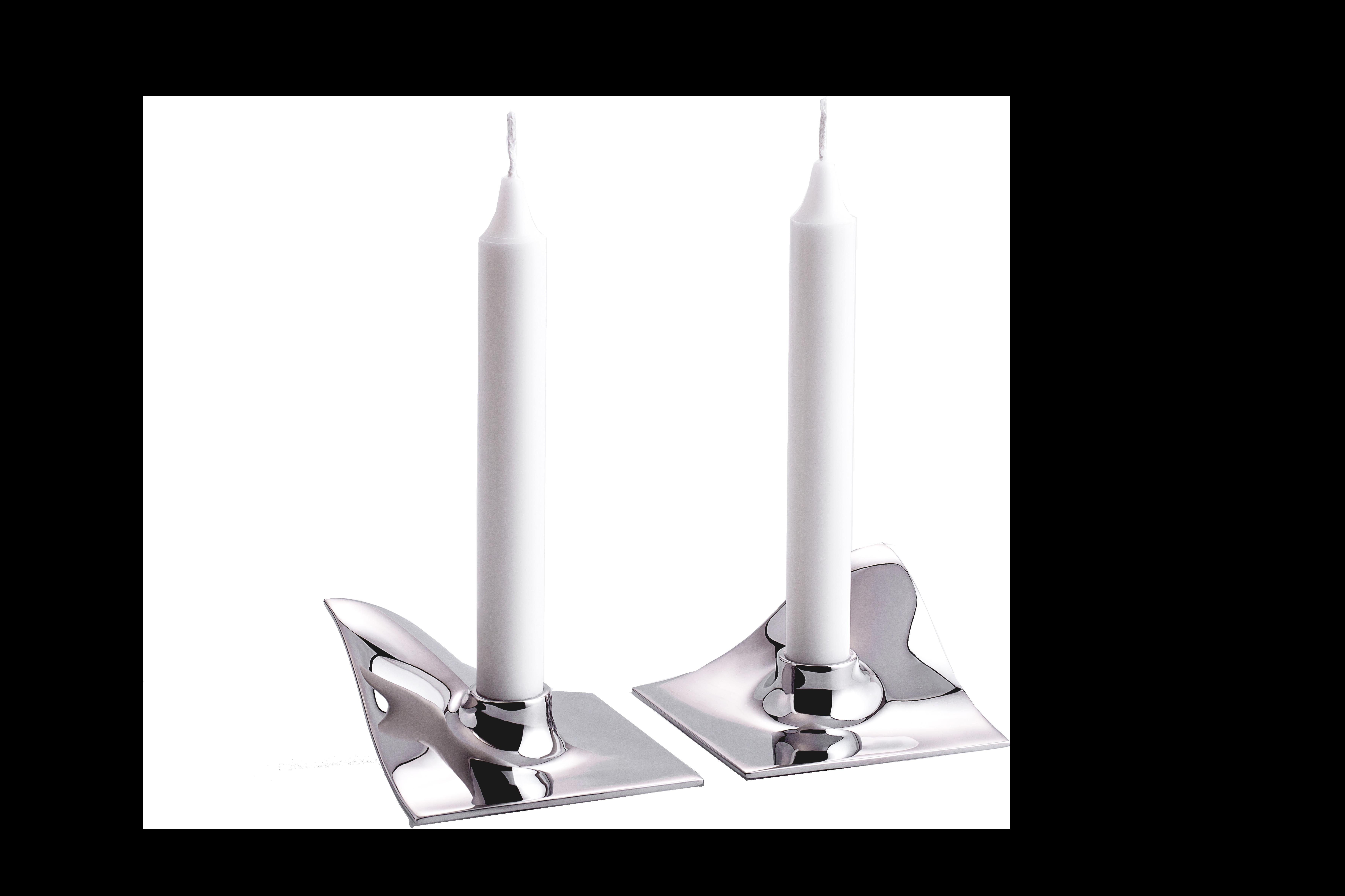 ARCHITECTMADE Quartet Stainless Steel Candleholder Hans Bølling