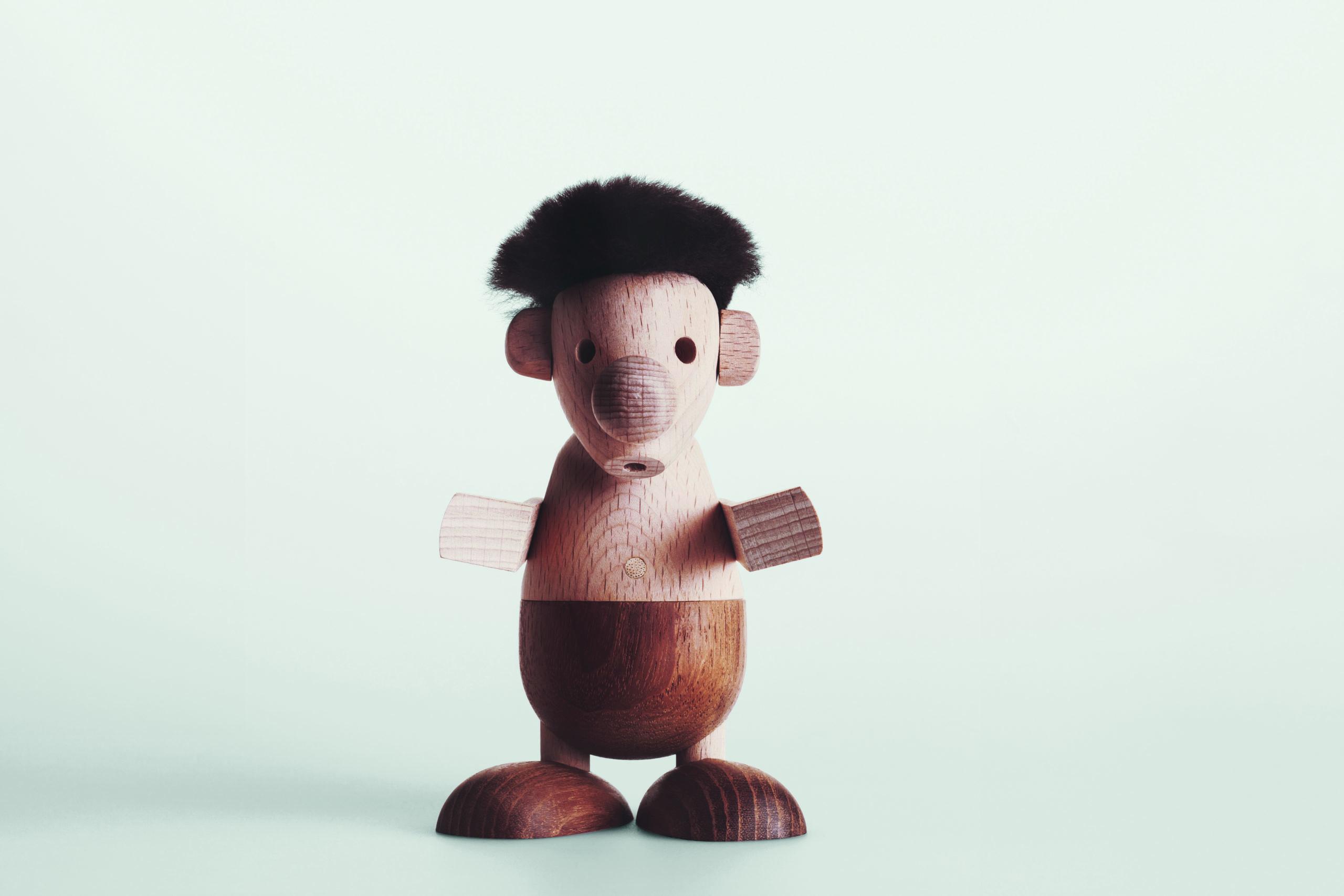 ARCHITECTMADE Strit Beech Wood Character Hans Bølling