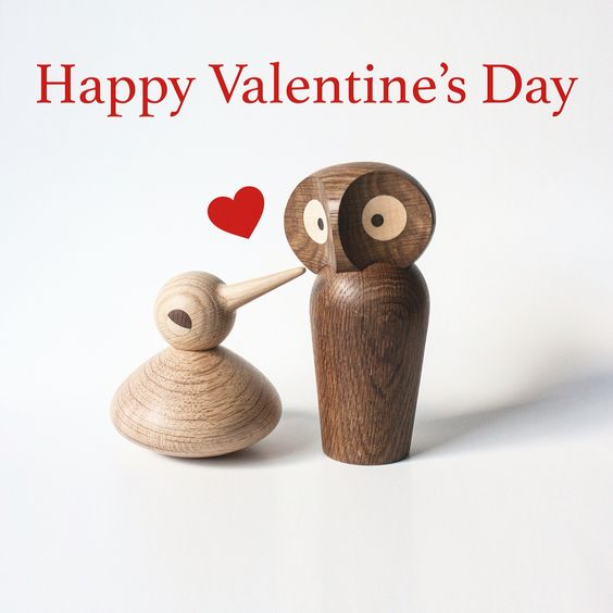 Architectmade Valentine BIRD Owl