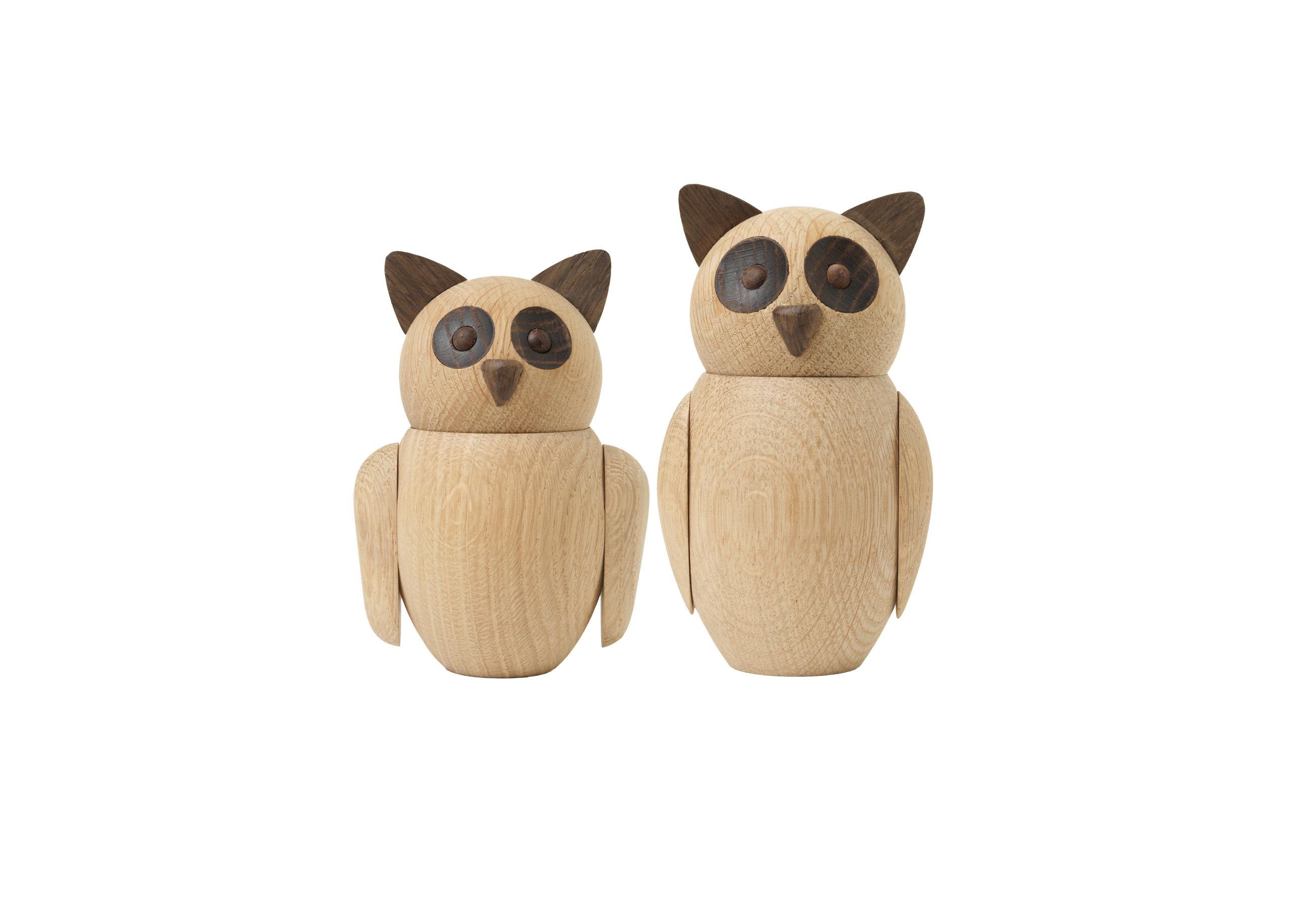 ARCHITECTMADE Bubo Owl Oak Nikolaj Klitgaard