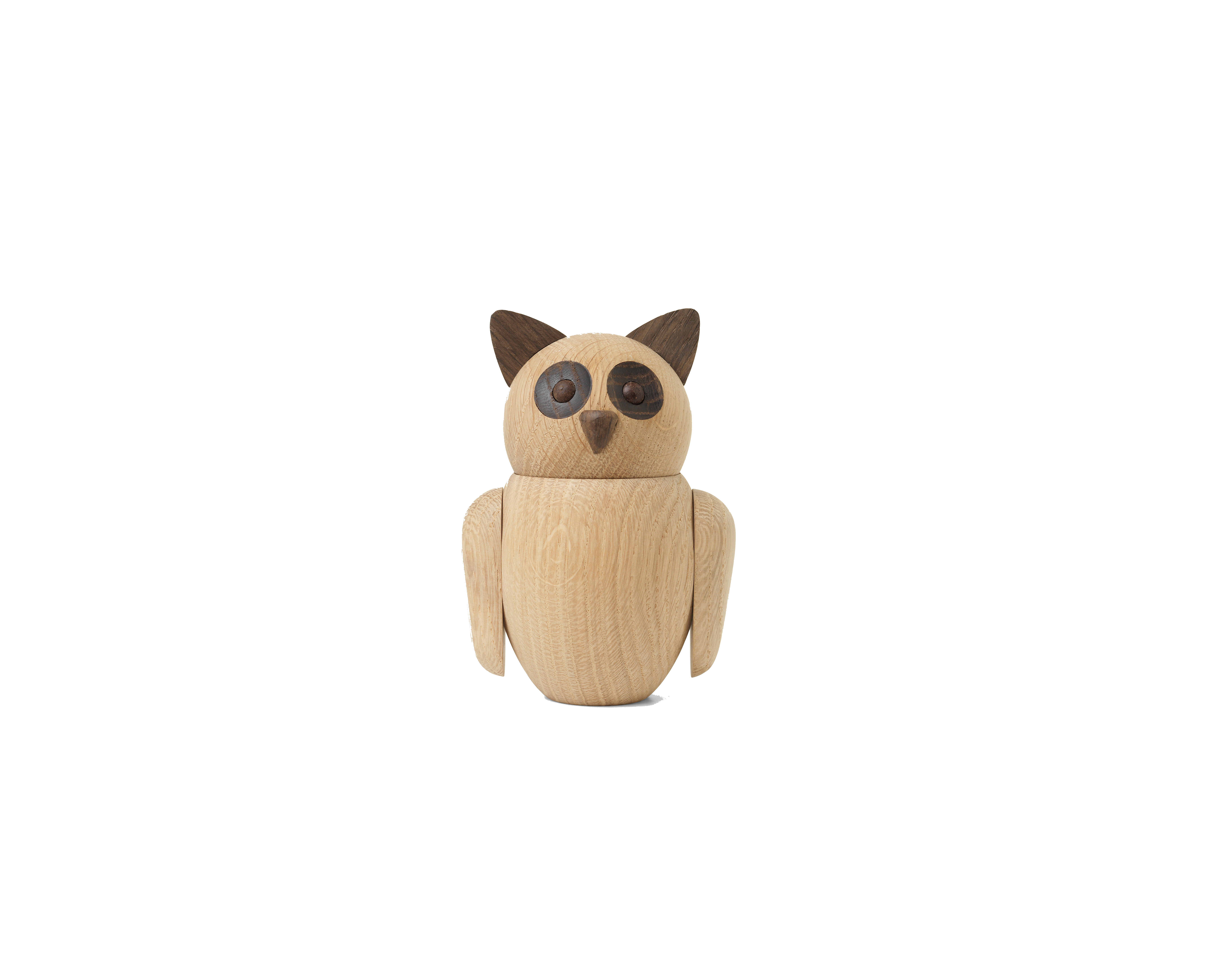 ARCHITECTMADE Bubo Small Owl Oak Nikolaj Klitgaard
