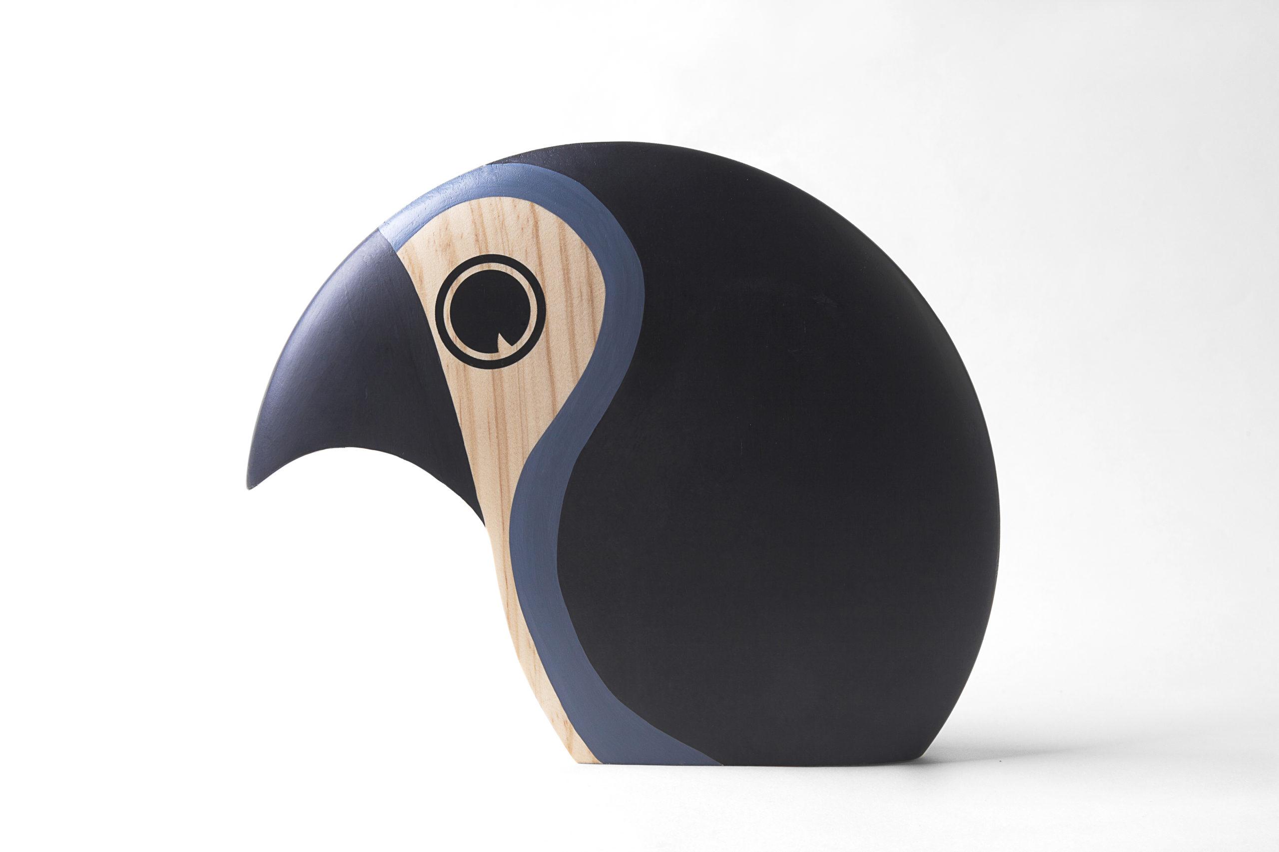 ARCHITECTMADE Discus Large Grey Pine Bird Hans Bølling