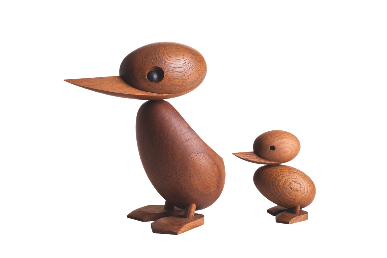 ARCHITECTMADE Duck and Duckling All Teak Hans Bølling