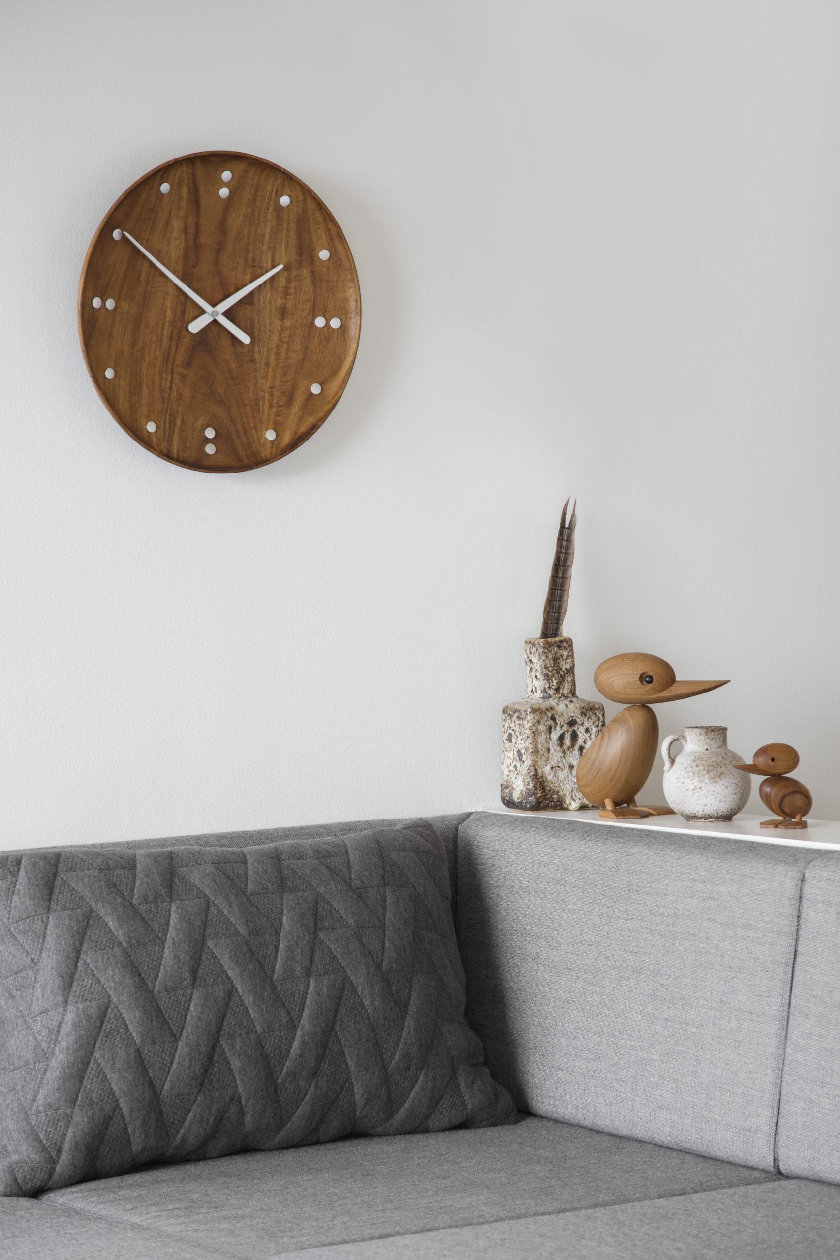 Architectmade-FJ-Clock-Wall-Clock-Teak-Wood-Denmark-Finn-Juhl