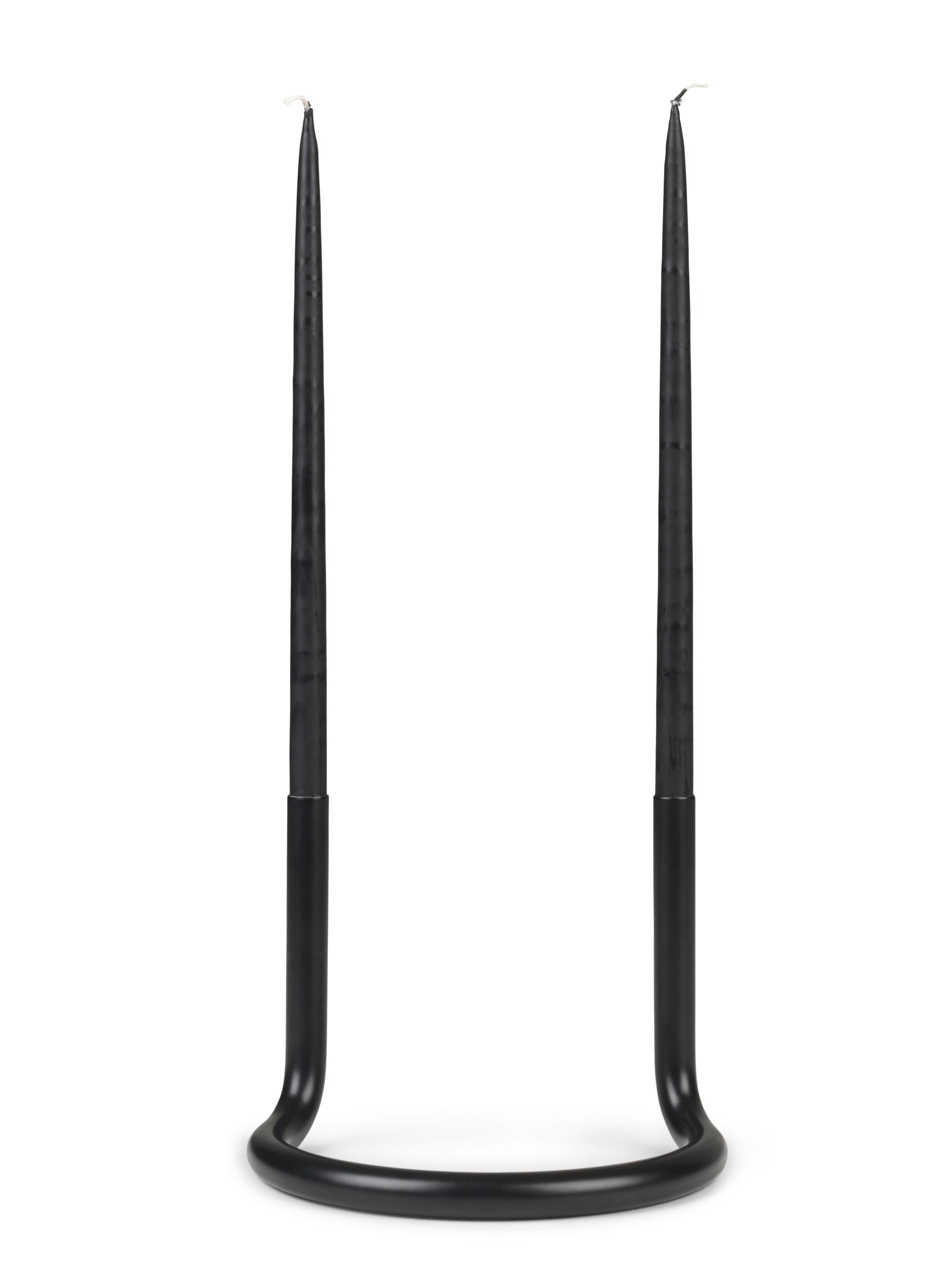 Architectmade-Gemini-Black-Stainless-Steel-Candleholder-Peter-Karpf